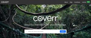 Coverr site videos gratuites